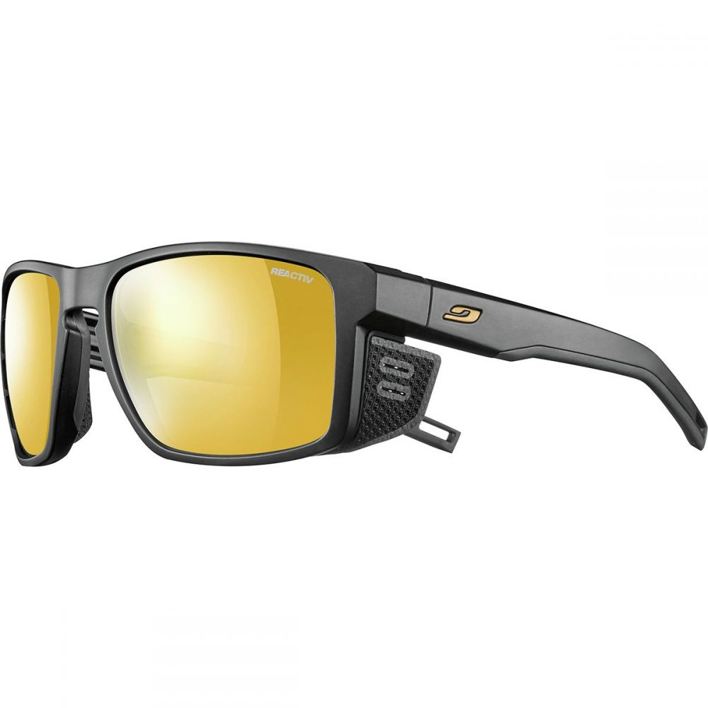 ジュルボ Julbo レディース スポーツサングラス【Shield Photochromic Zebra Sunglasses】Black/Black