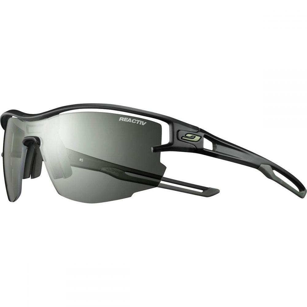 ジュルボ Julbo レディース スポーツサングラス【Aero Reactiv Sunglasses】Translucent Blue/Army