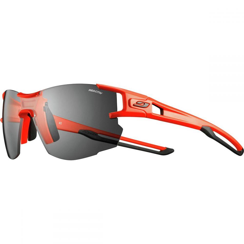 ジュルボ Julbo レディース スポーツサングラス【AeroLight Reactiv Sunglasses】Neon Orange/Black