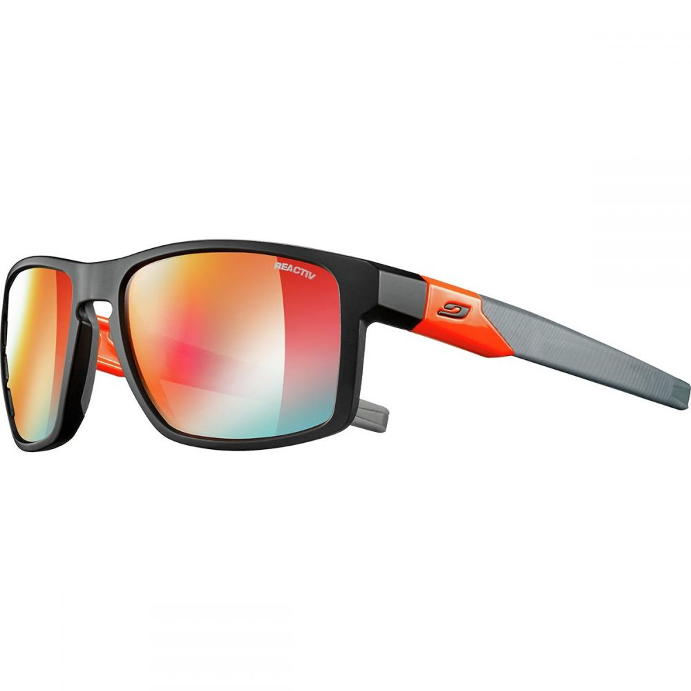 ジュルボ Julbo レディース スポーツサングラス【Stream Zebra Light Photochromic Sunglasses】Black/Neon Orange