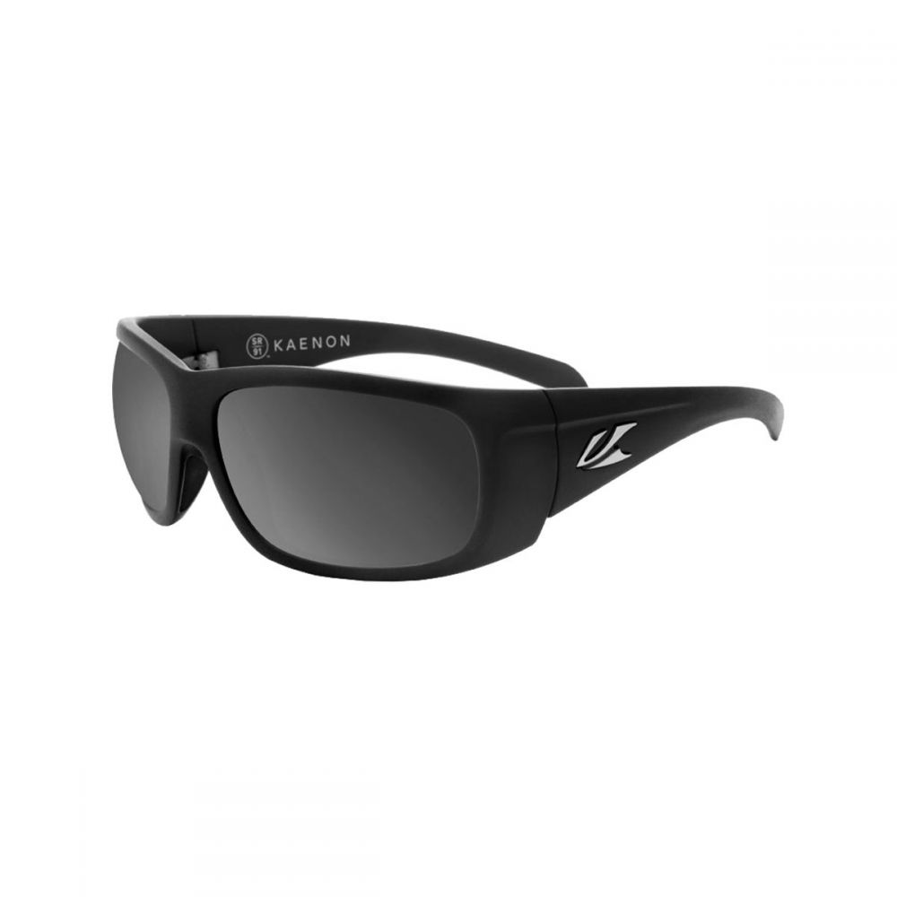 カエノン Kaenon メンズ メガネ・サングラス【Cliff Polarized Sunglassess】Black Label/Grey Polarized Black Mirror