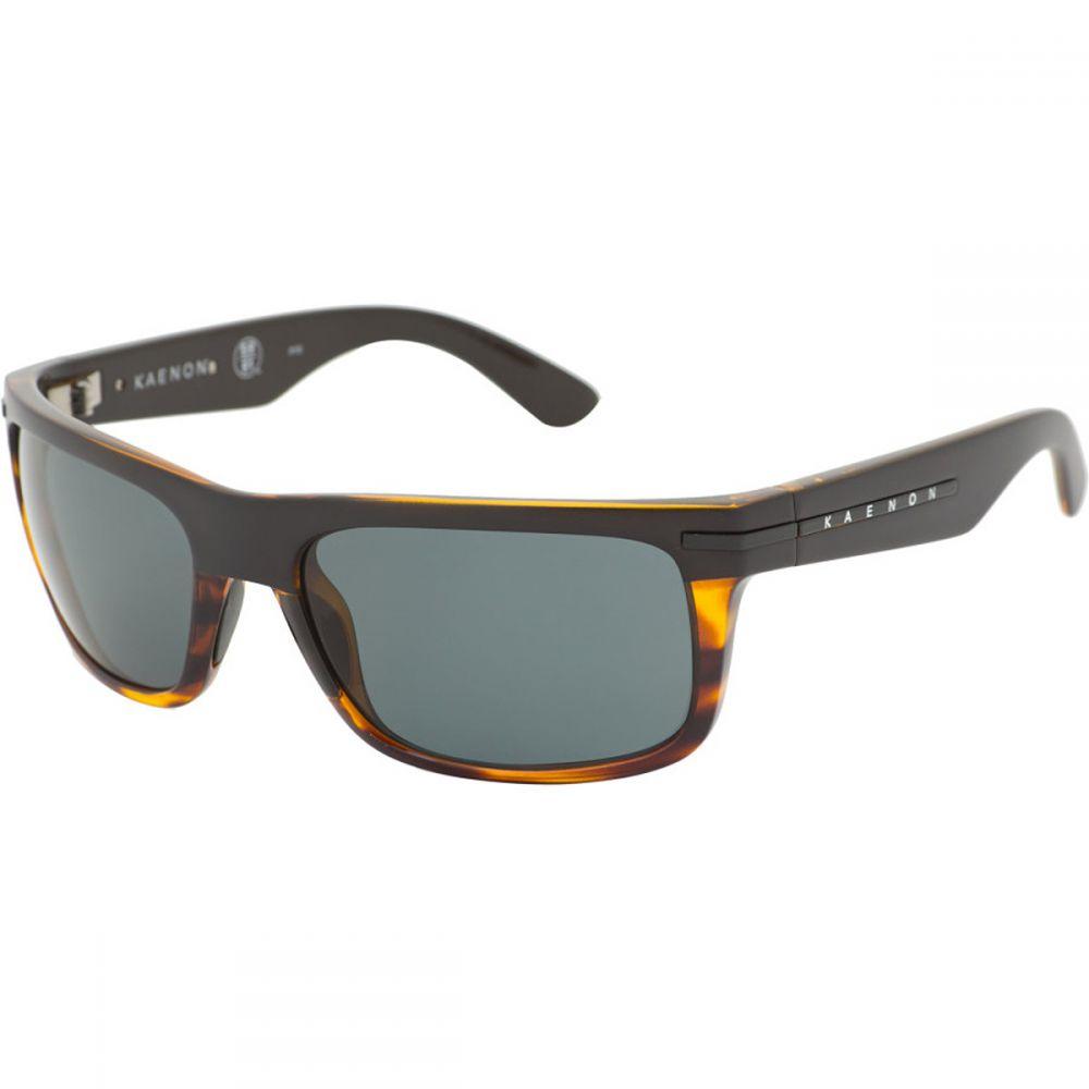 カエノン Kaenon メンズ メガネ・サングラス【Burnet Polarized Sunglasses】Special Sauce/Grey 12
