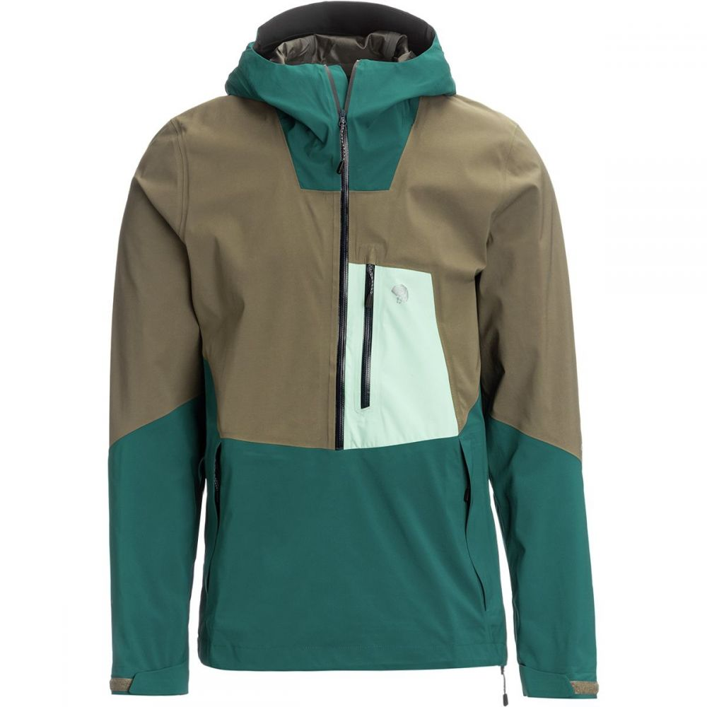 マウンテンハードウェア Mountain Hardwear メンズ アウター レインコート【Exposure/2 GTX Paclite Stretch Pullover Jackets】Dive