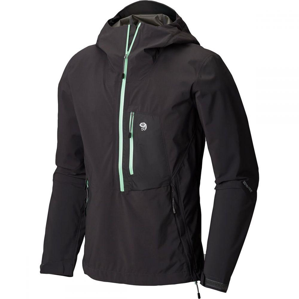 マウンテンハードウェア Mountain Hardwear メンズ アウター レインコート【Exposure/2 GTX Paclite Stretch Pullover Jackets】Void