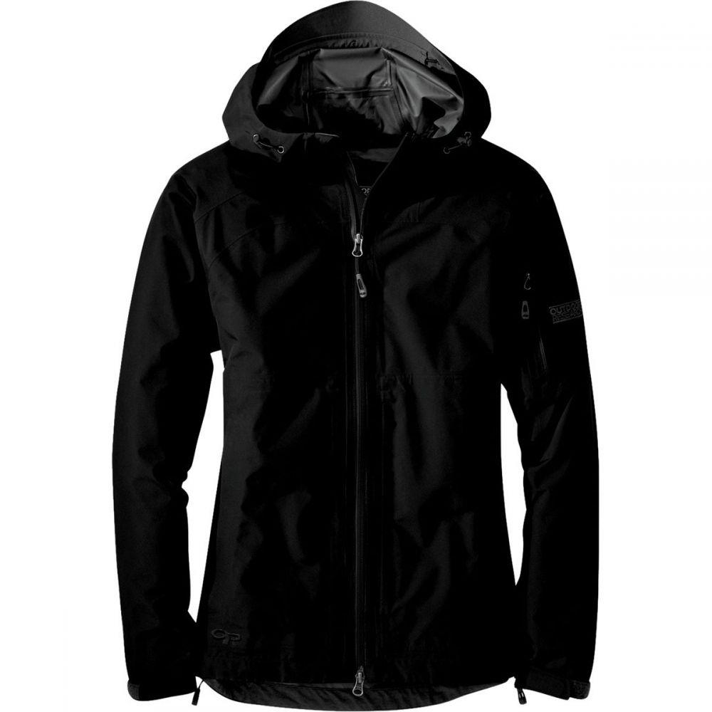 アウトドアリサーチ Outdoor Research レディース アウター レインコート【Aspire Jacket】Black