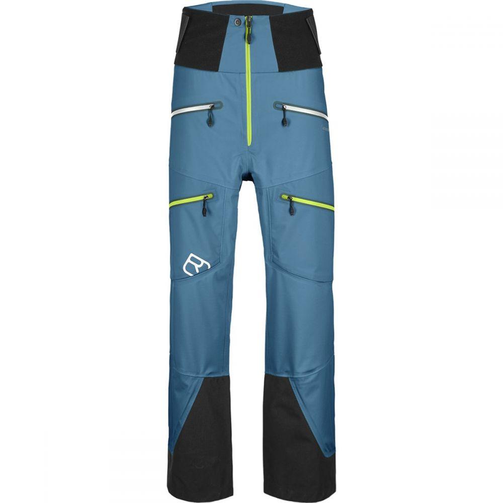 オルトボックス Ortovox メンズ スキー・スノーボード ボトムス・パンツ【Guardian Shell 3L Pants】Blue Sea