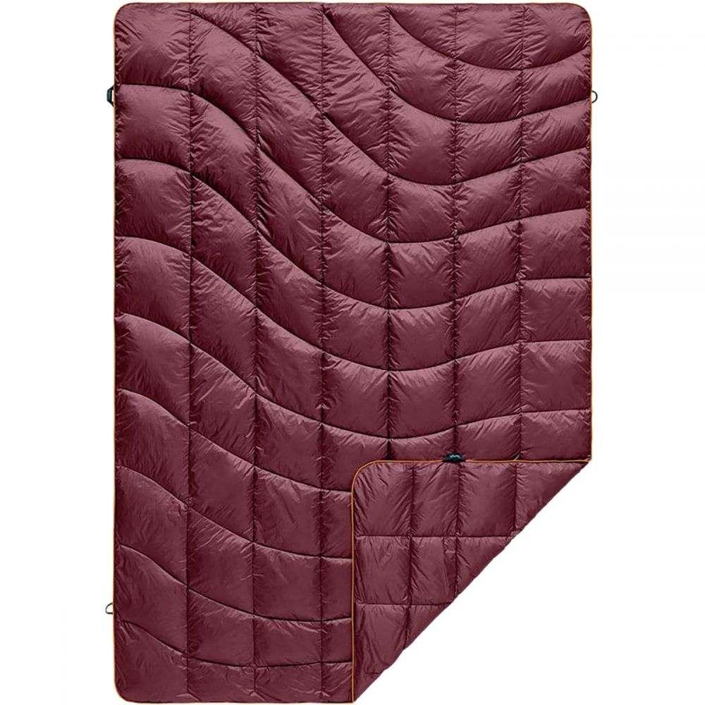 ルンプル Rumpl レディース 雑貨【The Down Puffy 1 - Person Solid Blanket】Wine Red/Canyon Orange