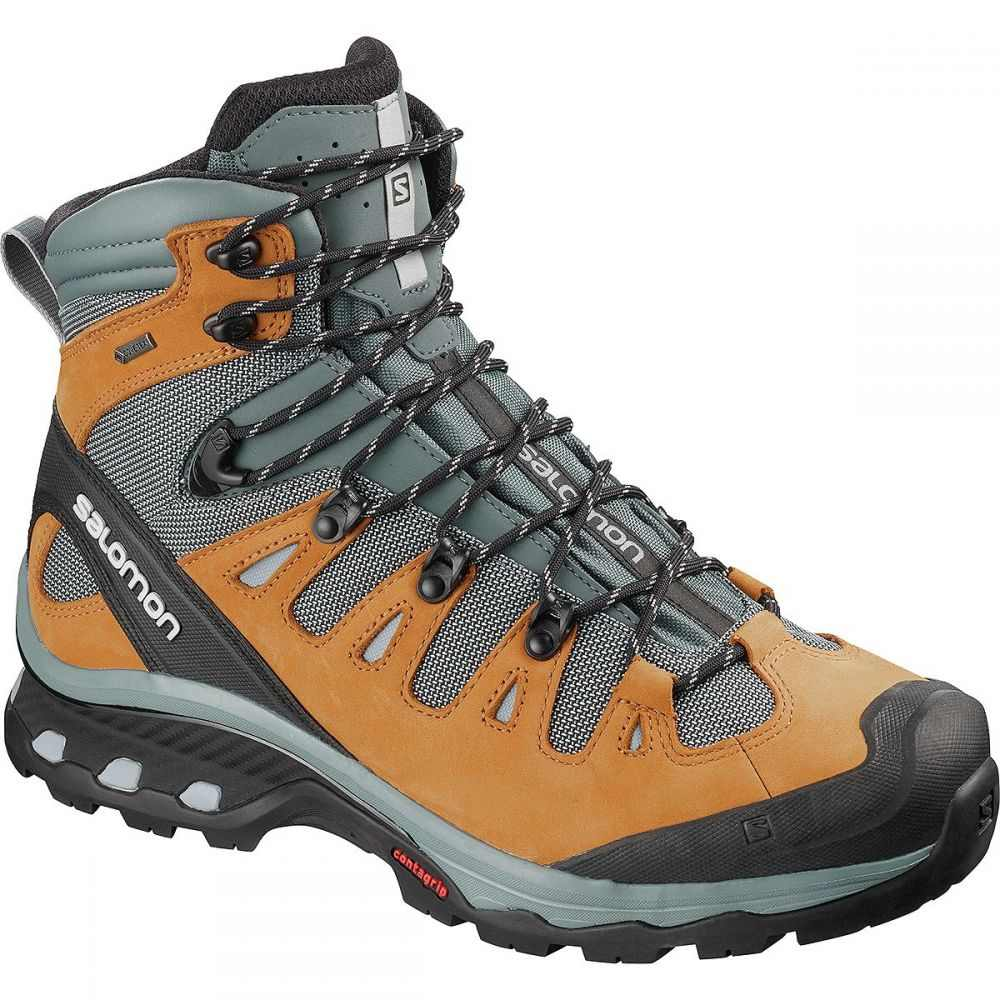 サロモン Salomon メンズ ハイキング・登山 シューズ・靴【Quest 4D 3 GTX Backpacking Boots】Cathay Spice/Stormy Weather/Pearl Blue