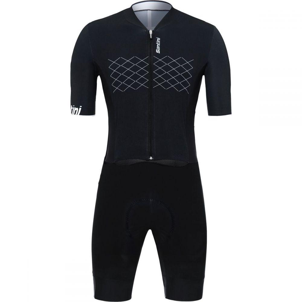 サンティーニ Santini メンズ トライアスロン トップス【Redux TT C3 Road Skinsuits】Black