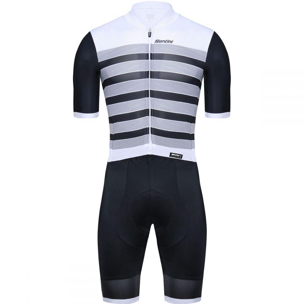 サンティーニ Santini メンズ トライアスロン トップス【Genio Road C3 Skinsuits】Black
