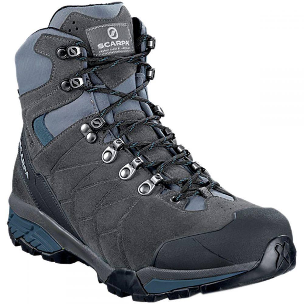 スカルパ Scarpa メンズ ハイキング・登山 シューズ・靴【ZG Trek GTX Backpacking Boots】Titanium/Lake Blue