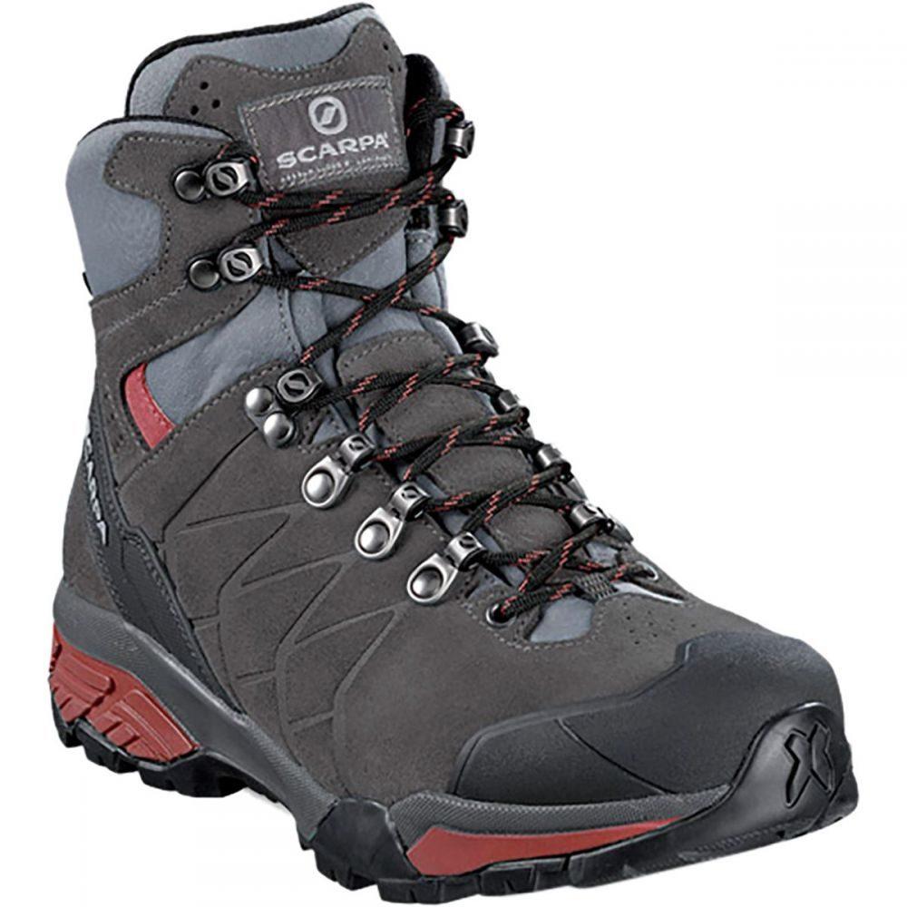 スカルパ Scarpa レディース ハイキング・登山 シューズ・靴【ZG Trek GTX Backpacking Boot】Titanium/Red Ibiscus