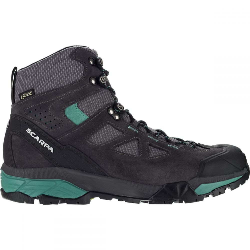 スカルパ Scarpa レディース ハイキング・登山 シューズ・靴【ZG Lite GTX Hiking Boot】Dark Grey/Lagoon