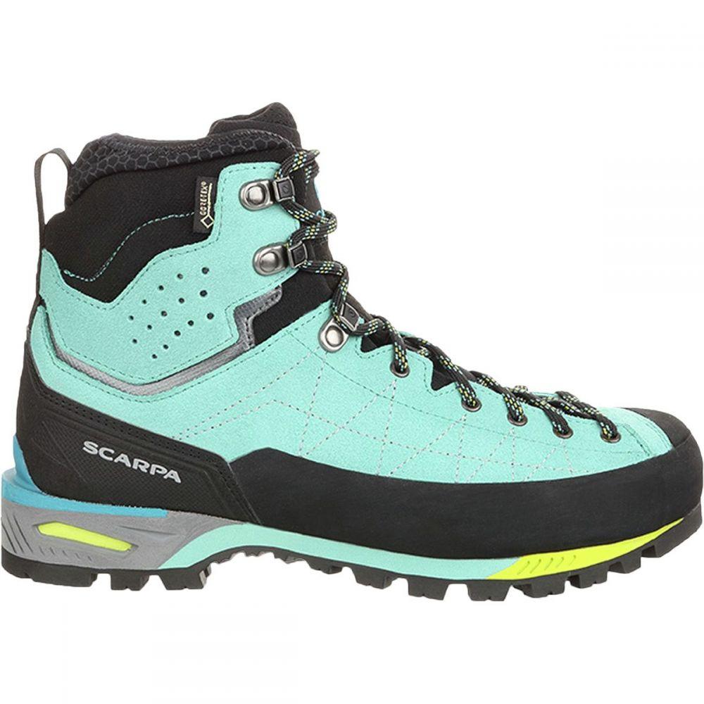スカルパ Scarpa レディース ハイキング・登山 シューズ・靴【Zodiac Tech GTX Mountaineering Boot】Green Blue