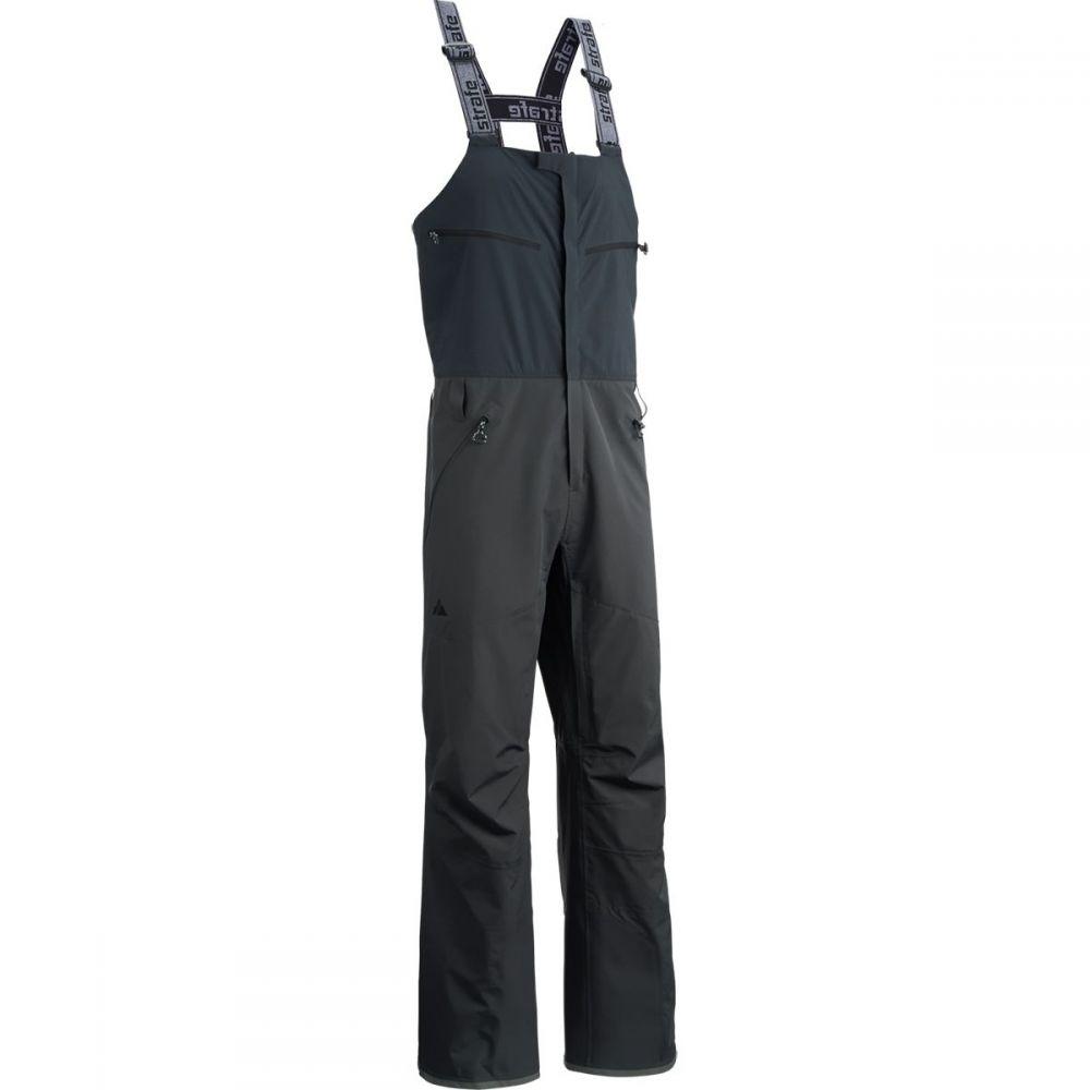 ストラーフェ アウターウェア Strafe Outerwear メンズ スキー・スノーボード ボトムス・パンツ【Nomad Bib Pants】Black