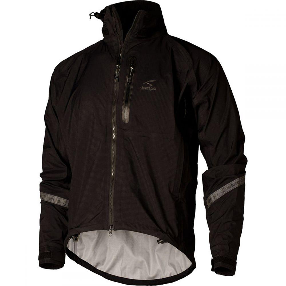 シャワーズ パス Showers Pass メンズ 自転車 アウター【Elite 2.1 Jacket s】Black
