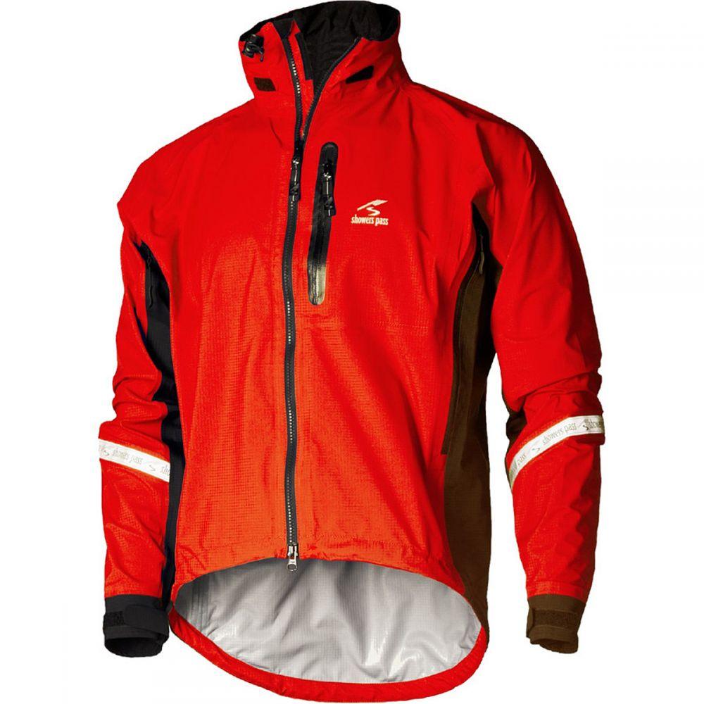 シャワーズ パス Showers Pass メンズ 自転車 アウター【Elite 2.1 Jacket s】Cayenne Red