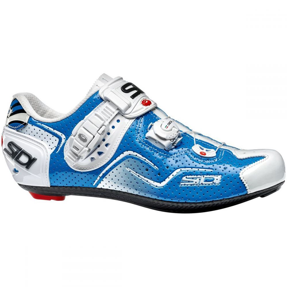 シディー Sidi メンズ 自転車 シューズ・靴【Kaos Air Carbon Cycling Shoes】Blue/White