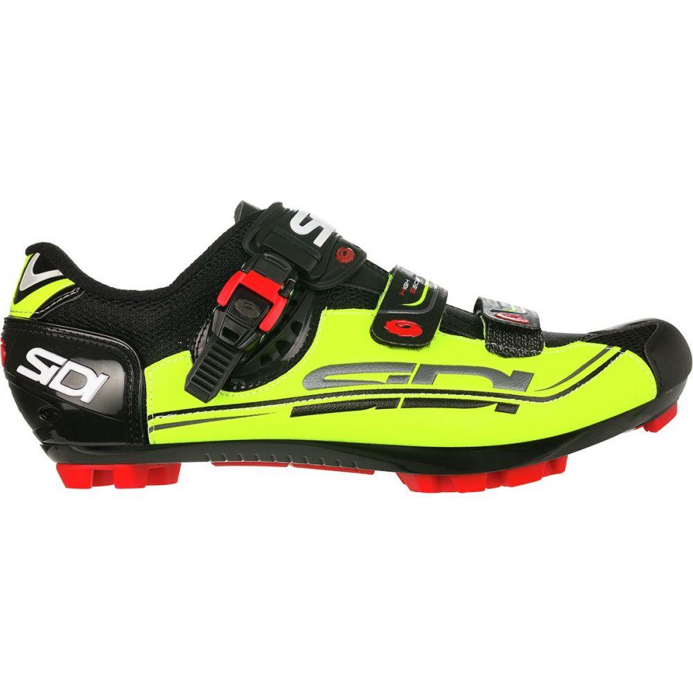 シディー Sidi メンズ 自転車 シューズ・靴【Dominator 7 SR Cycling Shoes】Flo Yellow/Black