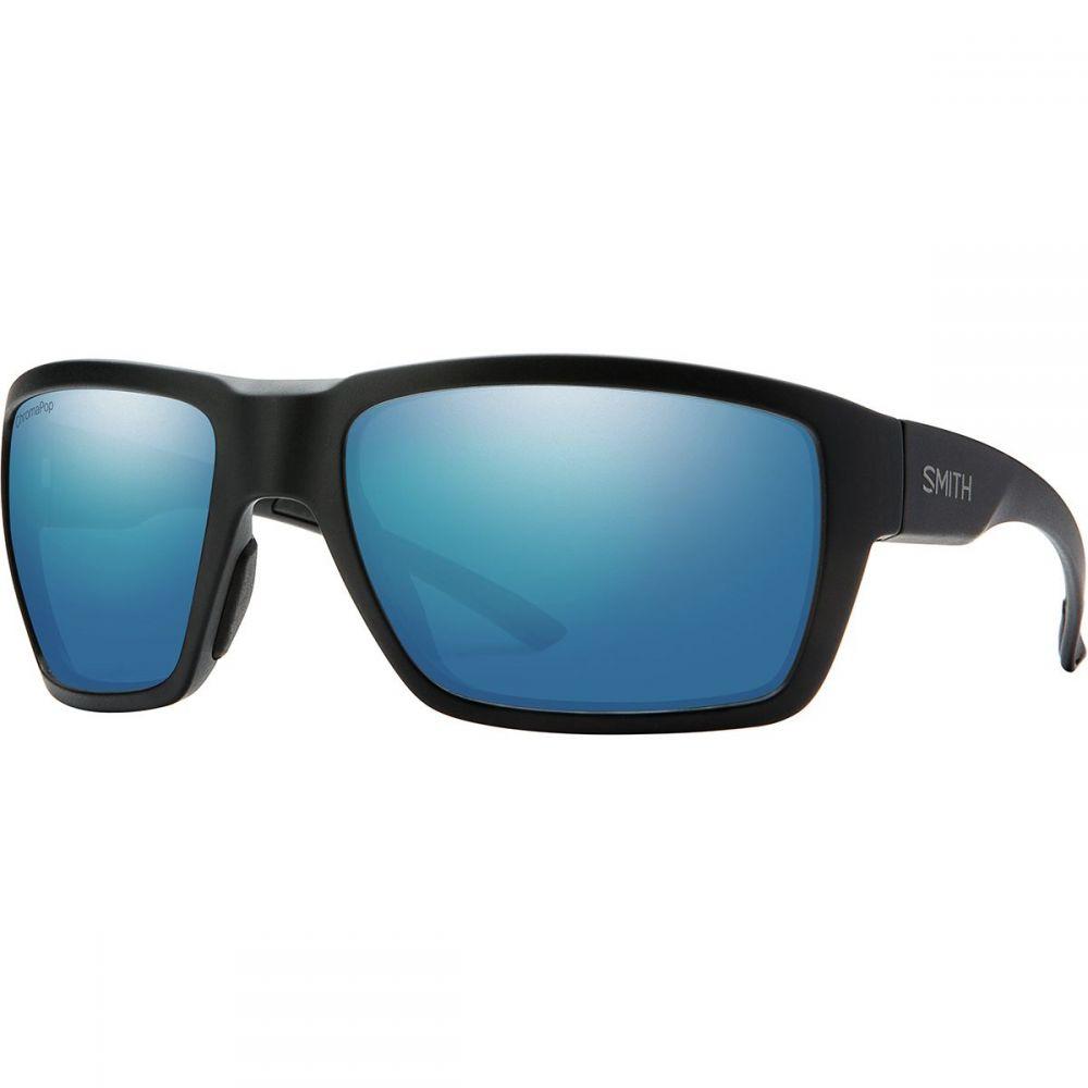 スミス Smith メンズ スポーツサングラス【Highwater ChromaPop+ Polarized Sunglassess】Matte Black/Polarized Blue Mirror