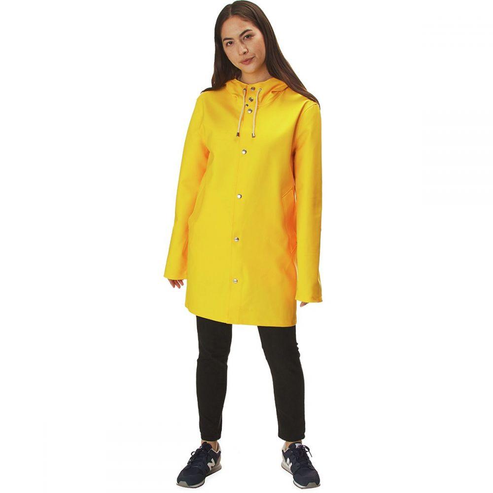 ストゥッテルハイム Stutterheim レディース アウター レインコート【Stockholm Jacket】Yellow