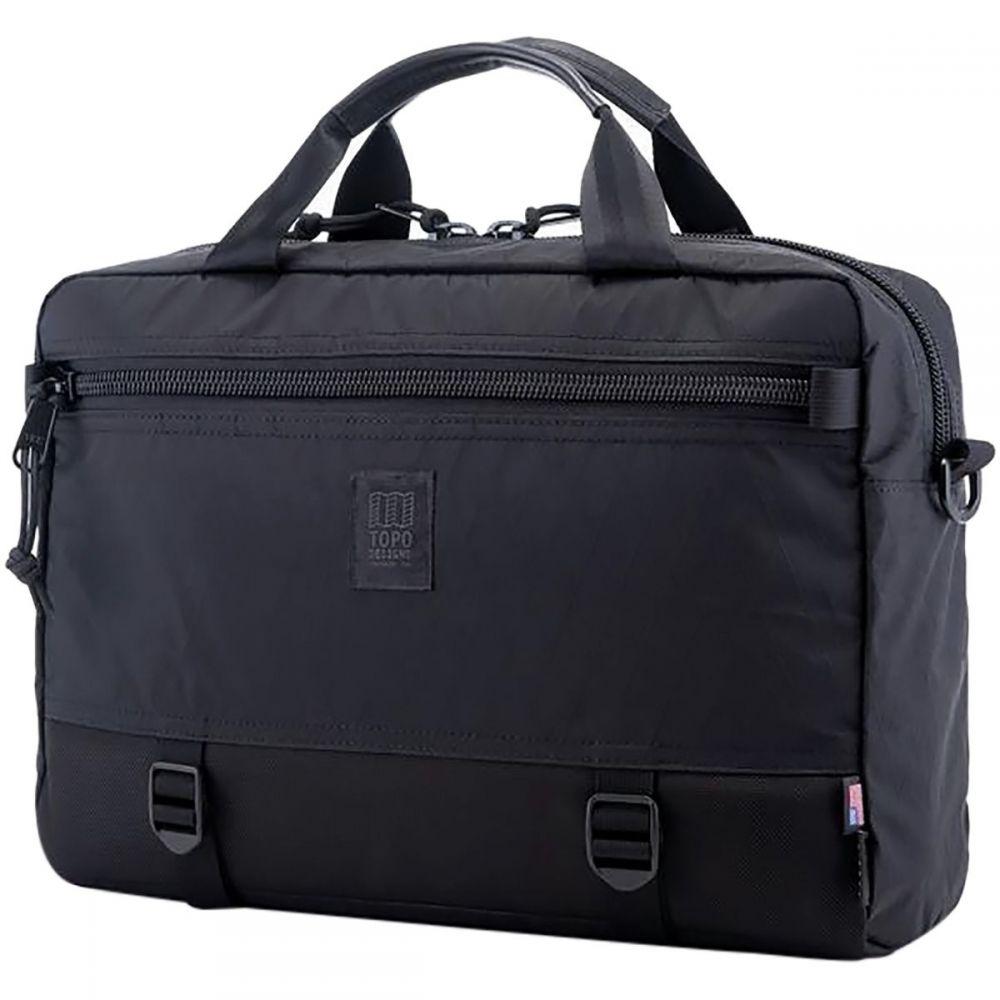 トポ デザイン Topo Designs レディース バッグ【Commuter 13L Briefcase】X-Pac Black/Ballistic