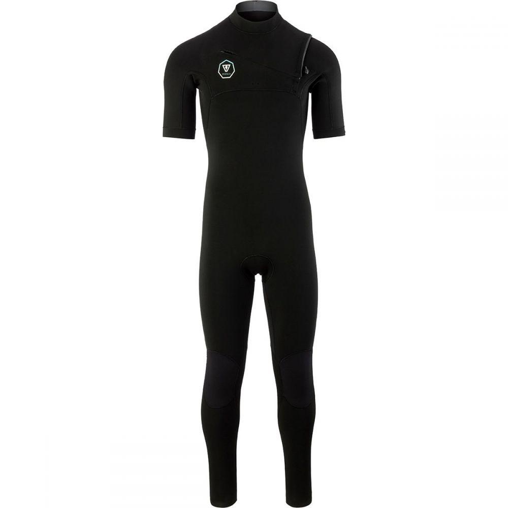 ヴィスラ Vissla メンズ 水着・ビーチウェア ウェットスーツ【The 7 Seas 2/2 Short-Sleeve Full Wetsuits】Black With Jade