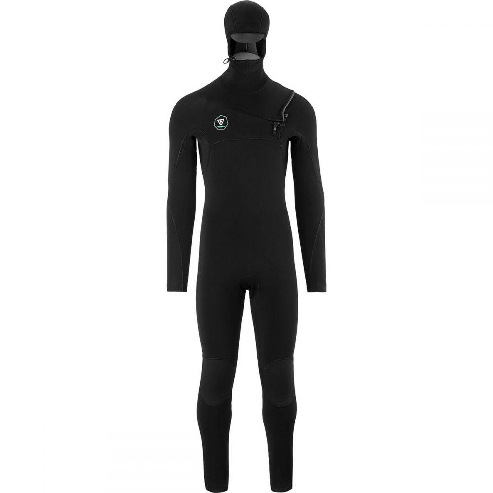 ヴィスラ Vissla メンズ 水着・ビーチウェア ウェットスーツ【7 Seas Hooded 5/4/3 Long-Sleeve Wetsuits】Black Fade