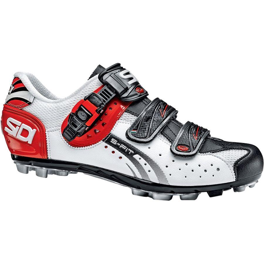 シディー Sidi メンズ サイクリング シューズ・靴【Dominator Fit Shoes】White/Black/Red