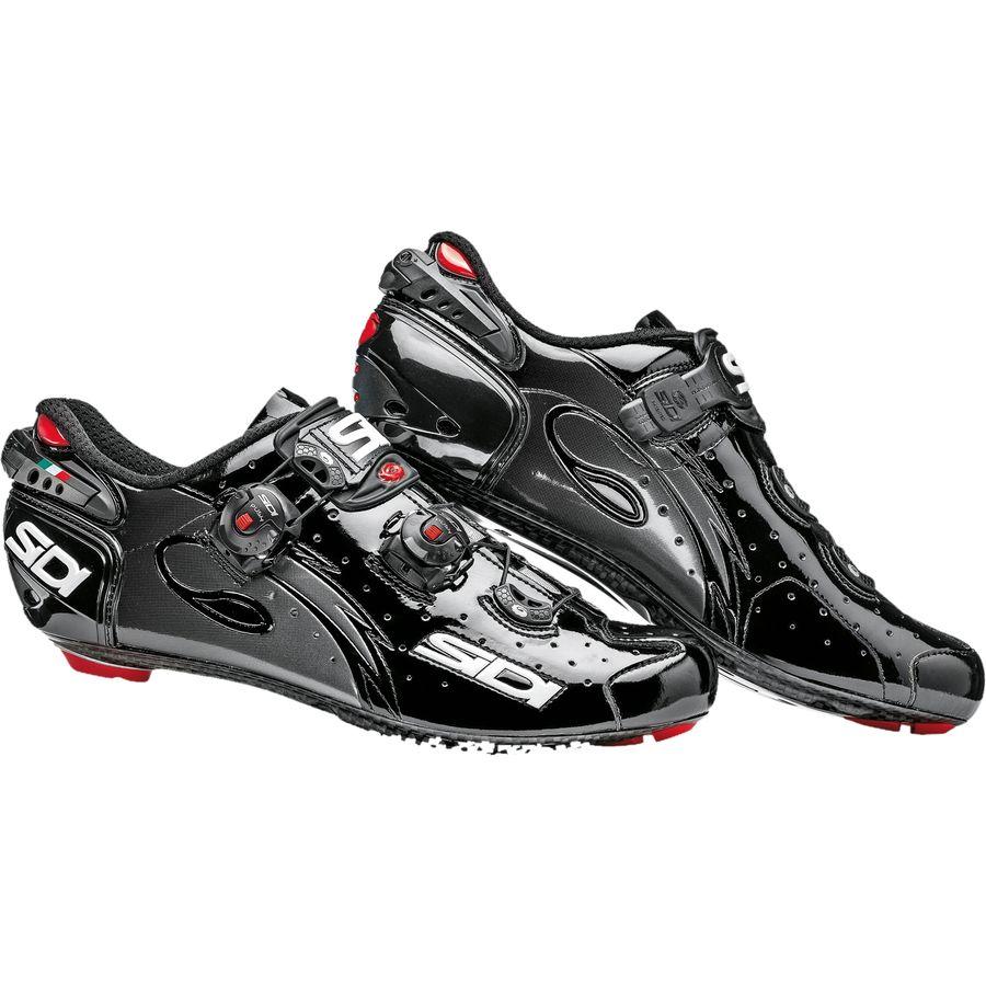 シディー Sidi メンズ サイクリング シューズ・靴【Wire Push Shoes】Black Vernice