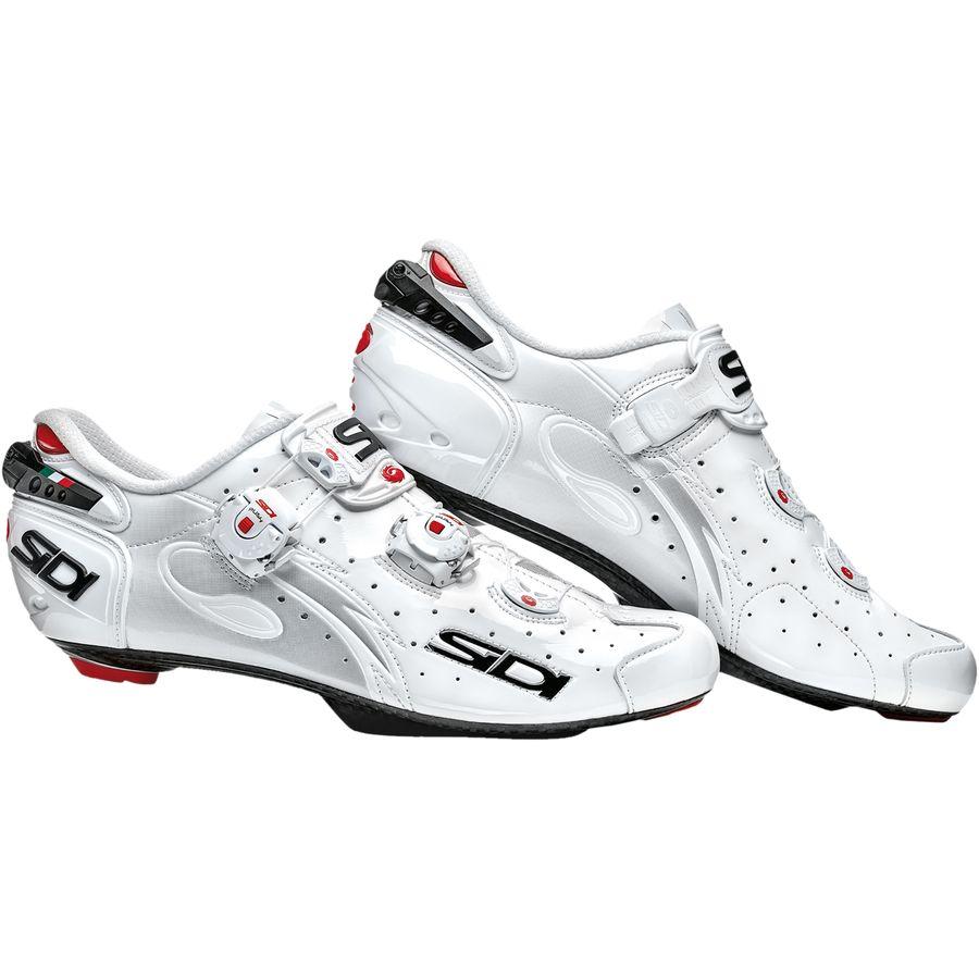 シディー Sidi メンズ サイクリング シューズ・靴【Wire Push Shoes】Vernice White