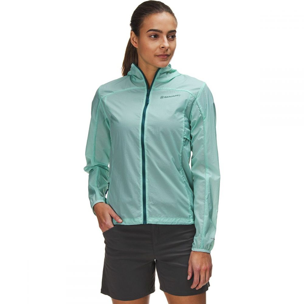 バックカントリー Backcountry レディース アウター レインコート【Canyonlands Lightweight Rain Jacket】Pastel Turquoise