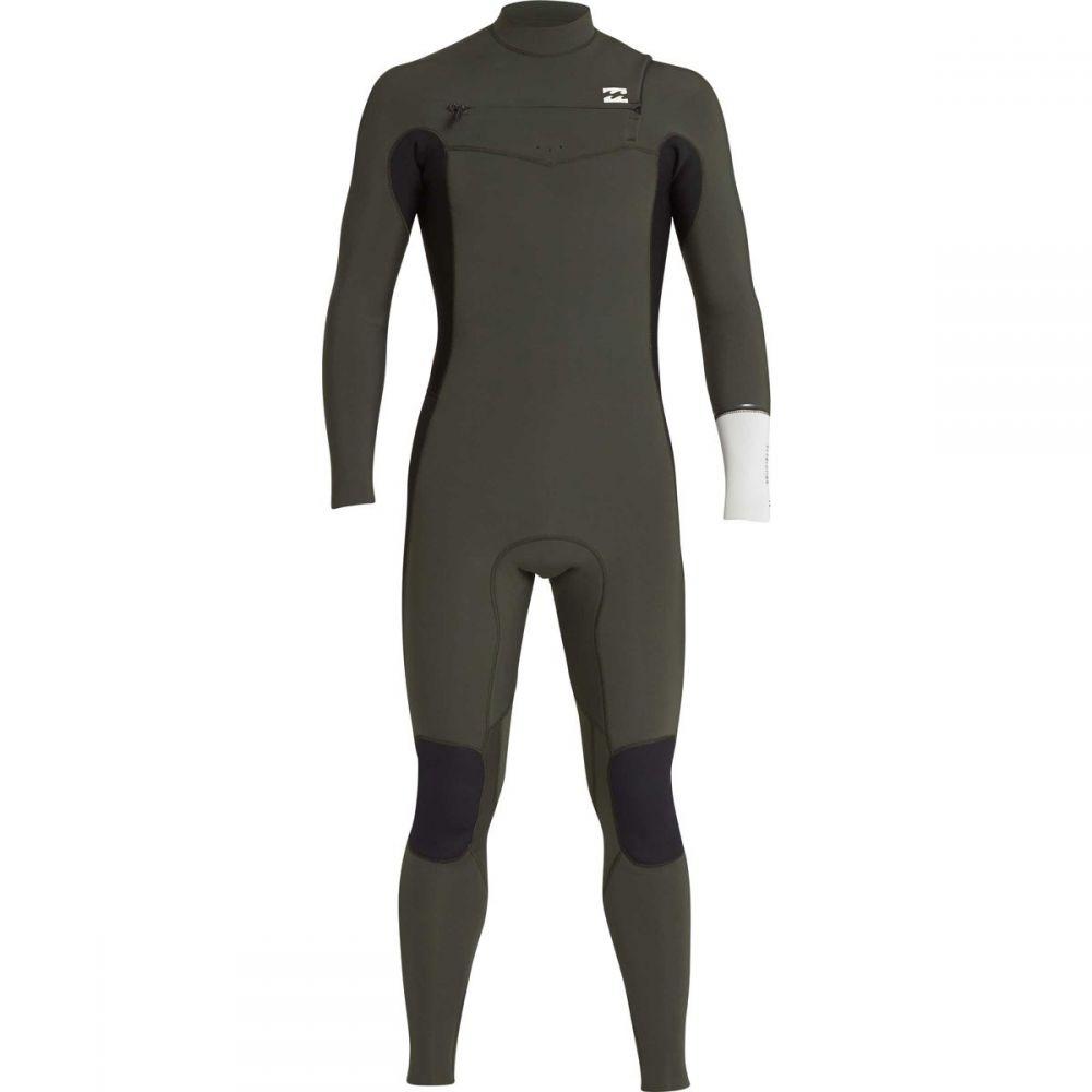 ビラボン Billabong メンズ 水着・ビーチウェア ウェットスーツ【4/3 Furnace Revolution Chest Zip Full Wetsuits】Dark Olive