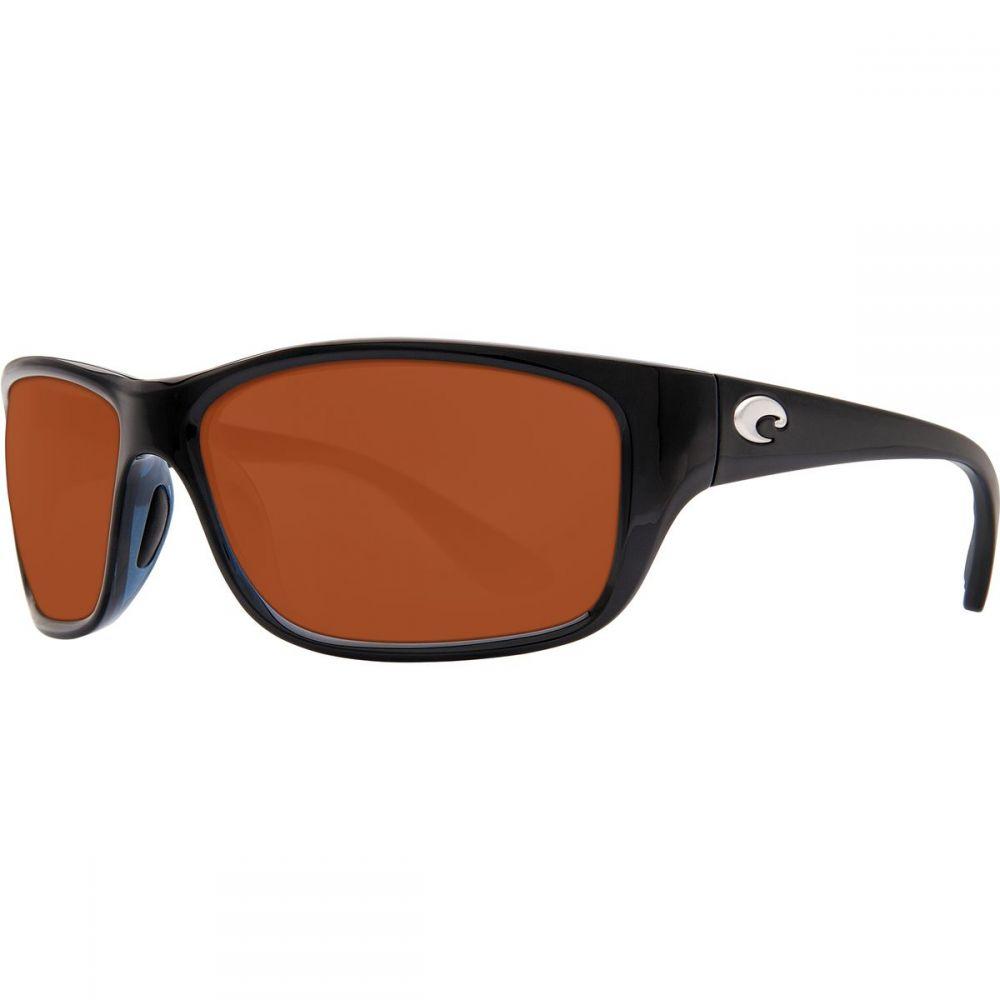 コスタ Costa レディース メガネ・サングラス【Tasman Sea 580P Polarized Sunglasses】Shiny Black Copper 580p