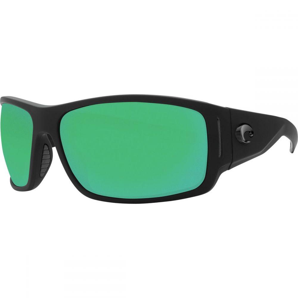 コスタ Costa メンズ メガネ・サングラス【Cape 580P Polarized Sunglasses】Green Mirror 580p/Matte Black Ultra Frame