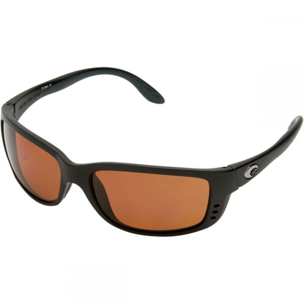 コスタ Costa レディース スポーツサングラス【Zane Polarized 580P Sunglasses】Matte Black/Gray