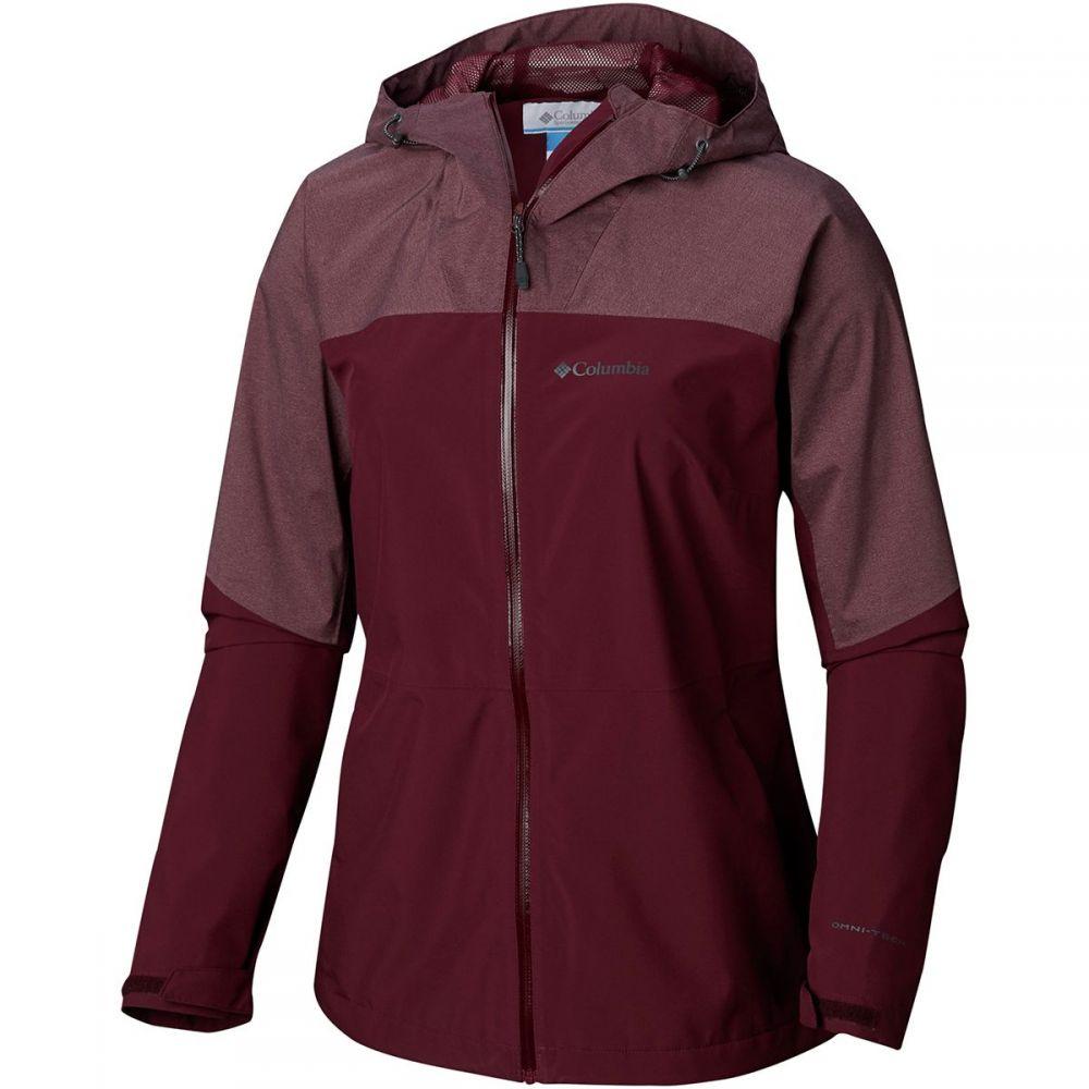 コロンビア Columbia レディース アウター レインコート【Evolution Valley II Jacket】Deep Madeira/Deep Madeira Heather