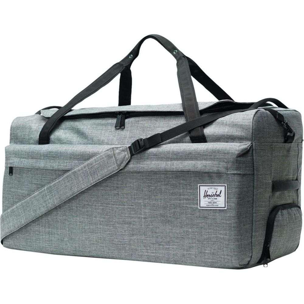 ハーシェル サプライ Herschel Supply レディース バッグ ボストンバッグ・ダッフルバッグ【Outfitter 90L Duffel Bag】Raven Crosshatch