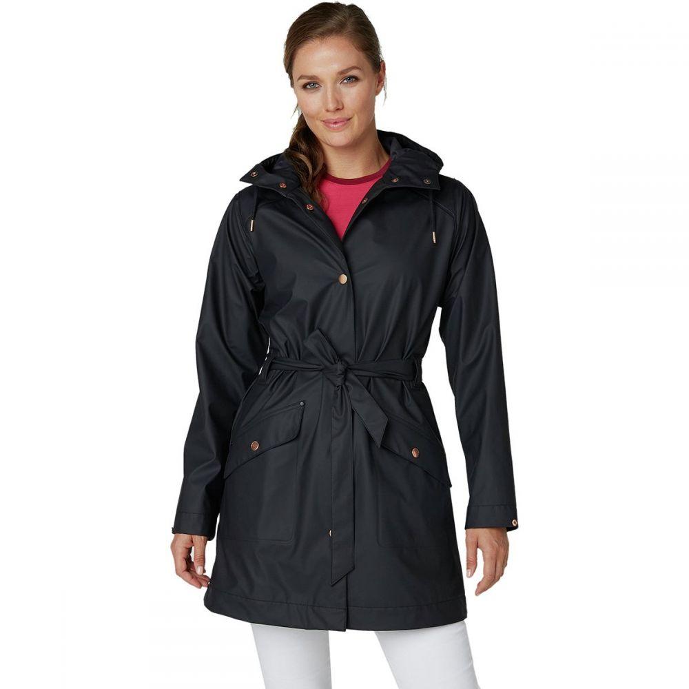 ヘリーハンセン Helly Hansen レディース アウター レインコート【Kirkwall II Rain Coat】Black