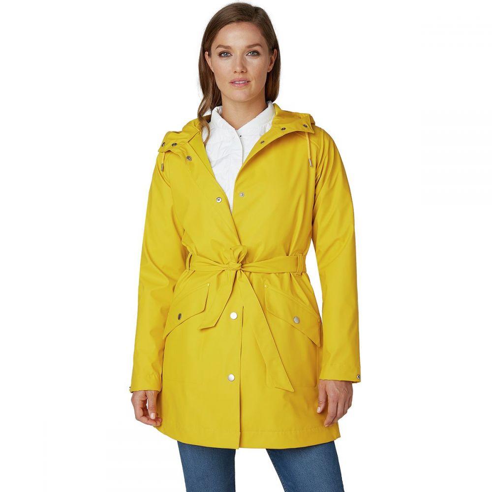 ヘリーハンセン Helly Hansen レディース アウター レインコート【Kirkwall II Rain Coat】Essential Yellow