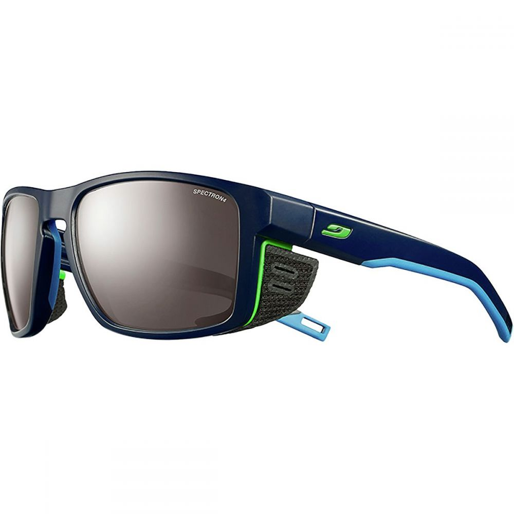 ジュルボ Julbo レディース スポーツサングラス【Shield Spectron 4 Sunglasses】Dark Blue/Blue/Green-Spectron 4 Brown