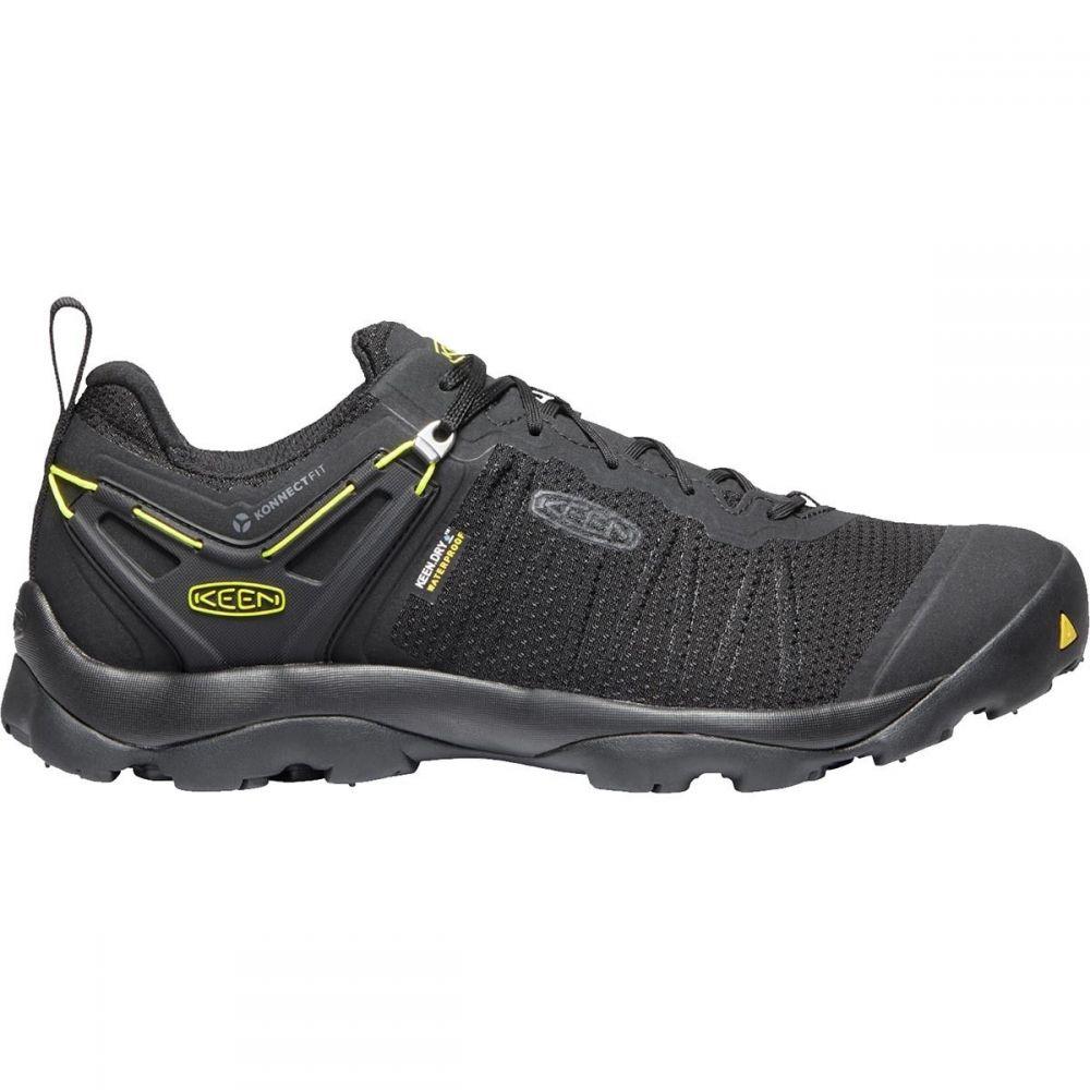 キーン KEEN メンズ ハイキング・登山 シューズ・靴【Venture Waterproof Hiking Shoes】Black/Vibrant Yellow