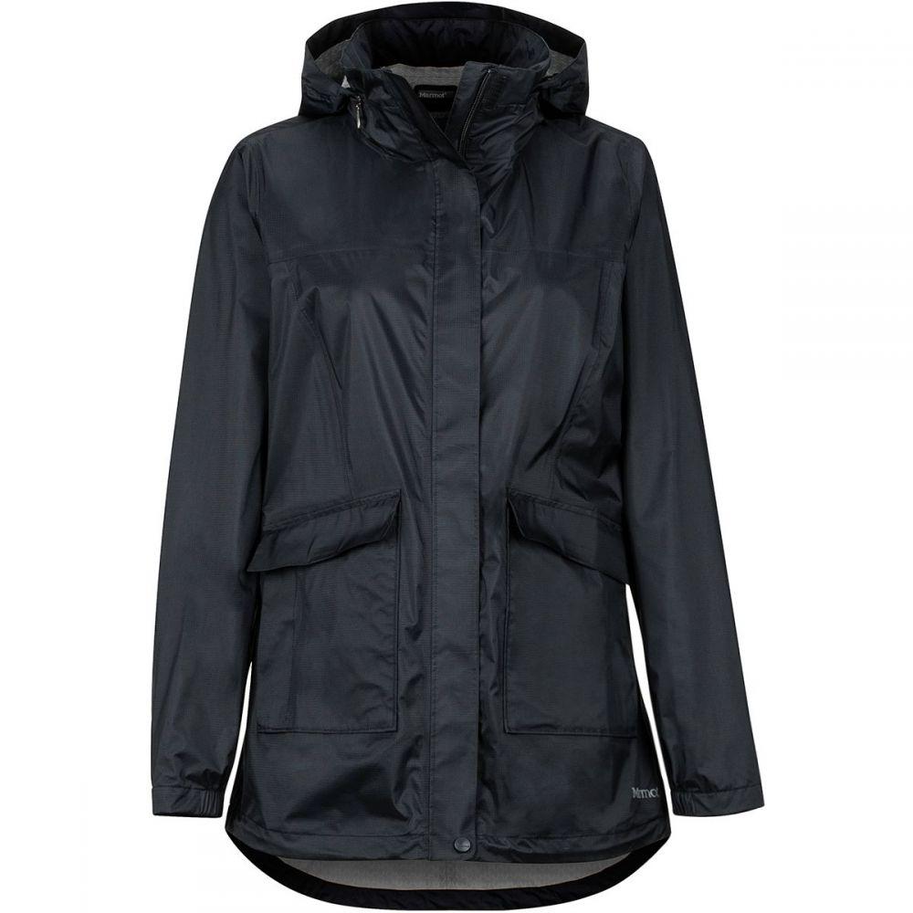 マーモット Marmot レディース アウター レインコート【Ashbury PreCip Eco Jacket】Black
