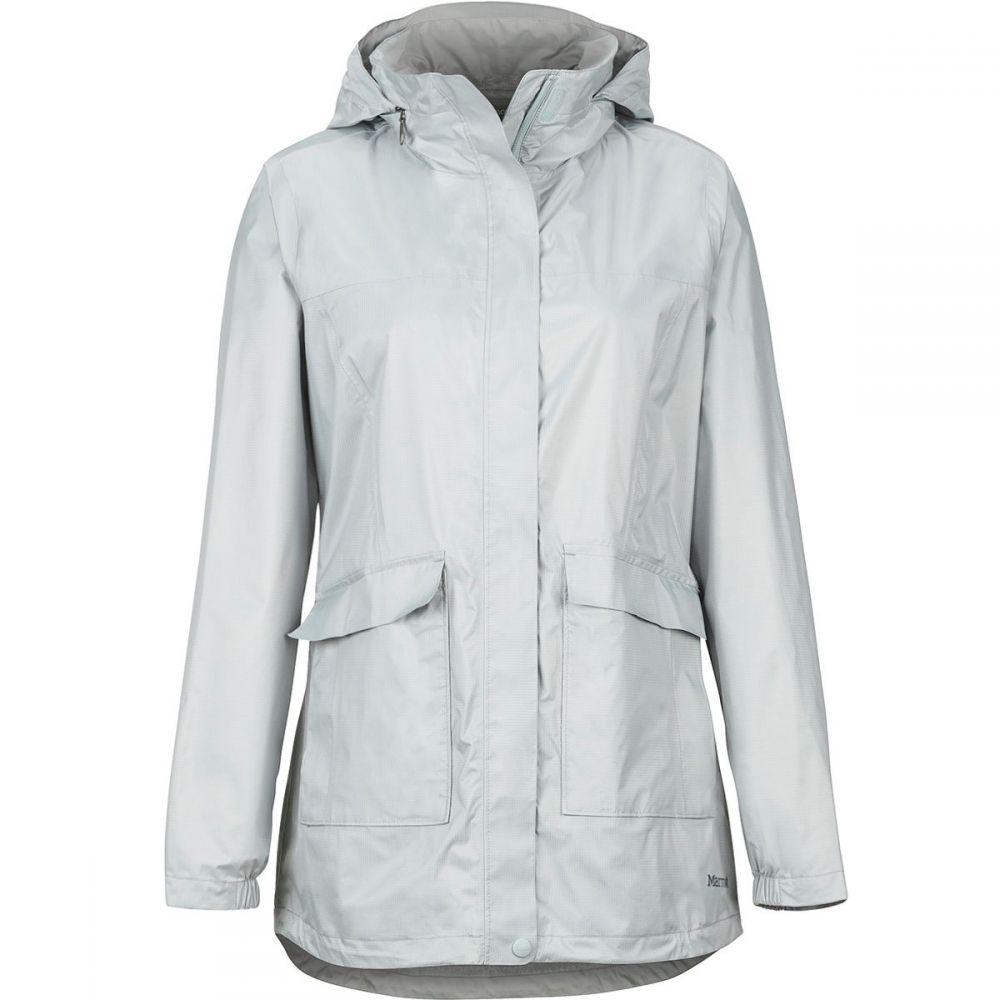 マーモット Marmot レディース アウター レインコート【Ashbury PreCip Eco Jacket】Bright Steel
