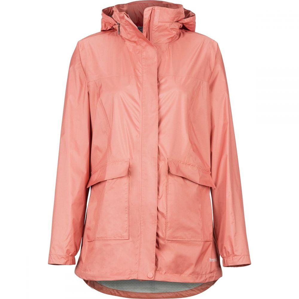 マーモット Marmot レディース アウター レインコート【Ashbury PreCip Eco Jacket】Coral Pink