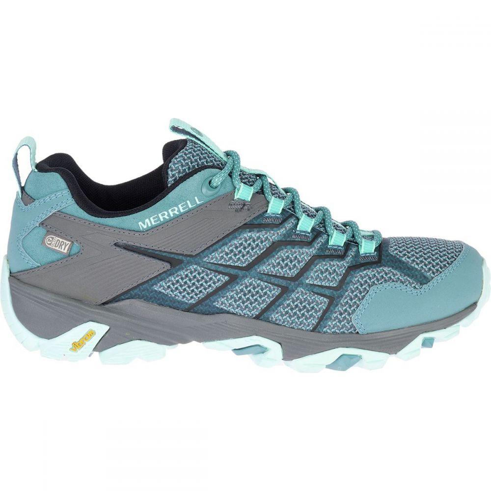 メレル Merrell レディース ハイキング・登山 シューズ・靴【Moab FST 2 Waterproof Hiking Shoe】Blue Smoke