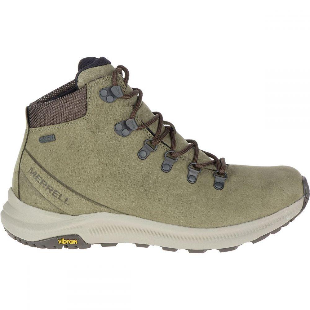 メレル Merrell メンズ ハイキング・登山 シューズ・靴【Ontario Mid Waterproof Hiking Boots】Olive