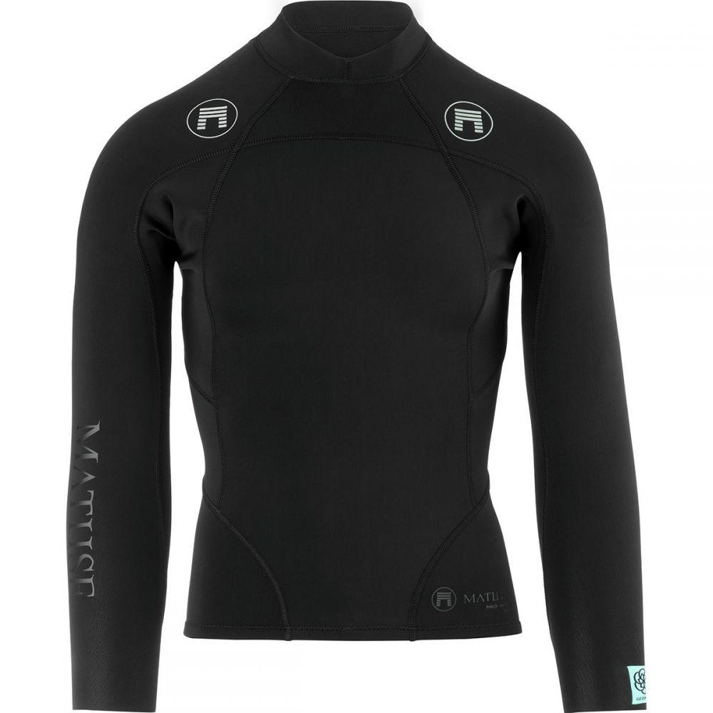 マテュース Matuse メンズ 水着・ビーチウェア ウェットスーツ【Philo Wetsuit Jackets】Black