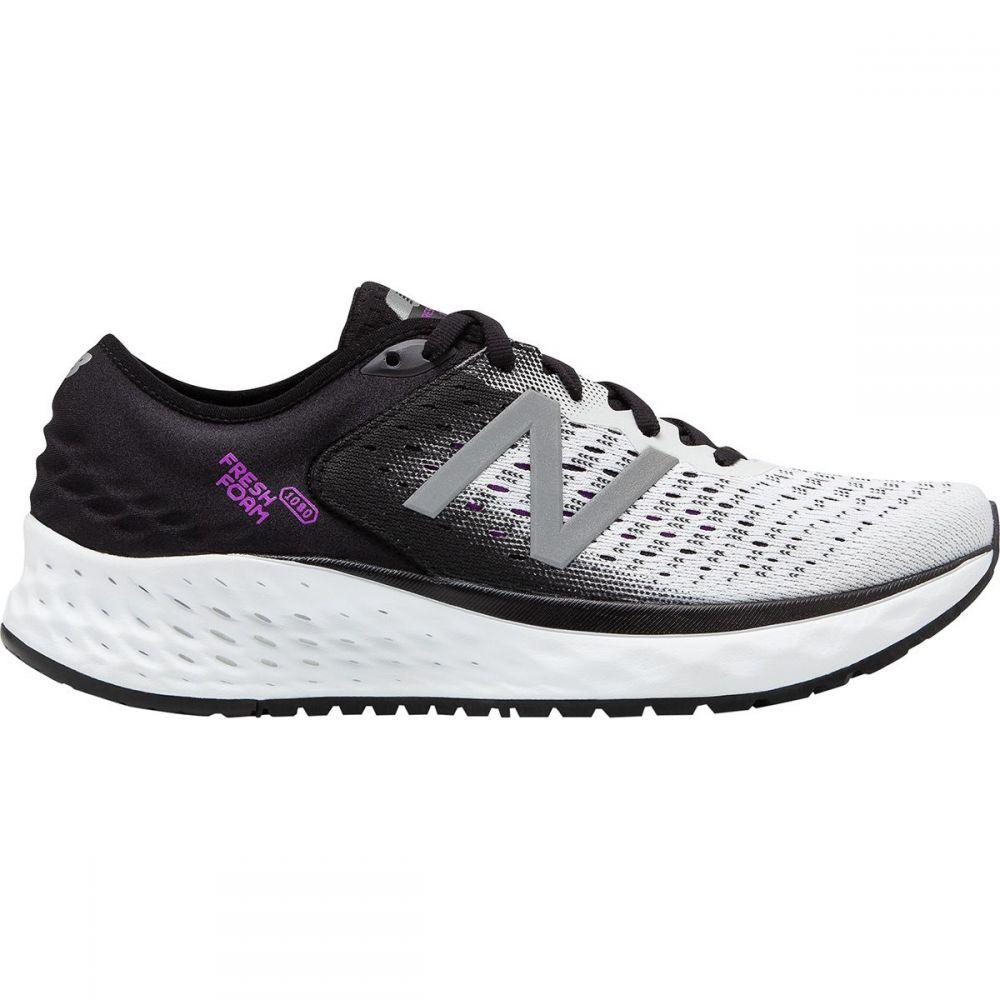 ニューバランス New Balance レディース ランニング・ウォーキング シューズ・靴【1080v9 Running Shoe】White/Black