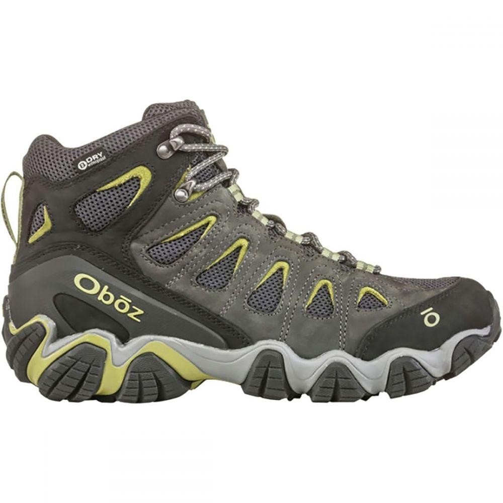 オボズ Oboz メンズ ハイキング・登山 シューズ・靴【Sawtooth II Mid B - Dry Hiking Boots】Dark Shadow.Woodbine Green